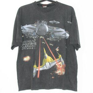 VTG Star Wars Episode 1 Jedi Promo T-Shirt M510
